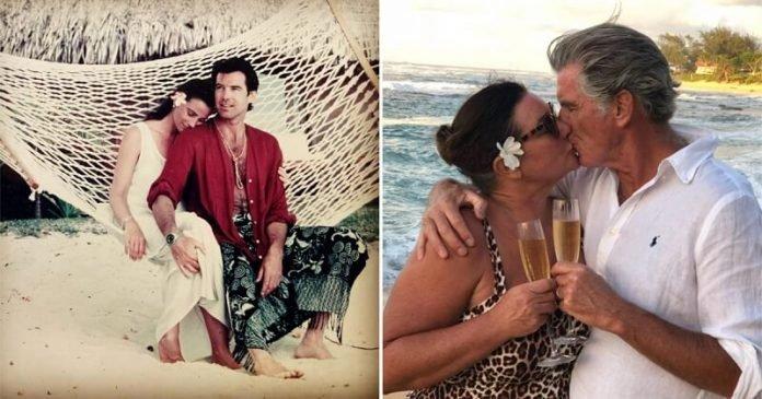 Pierce Brosnan 27 éve szerelmes a feleségébe: a nehézségek csak még jobban megerősítették a kapcsolatukat