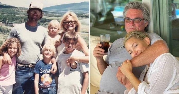 Kate Hudson és Kurt Russell kapcsolata bizonyítja, hogy az igazi apát nem feltétlenül a születésekor kapja meg az ember