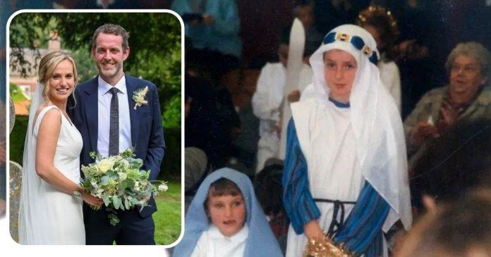 Máriát és Józsefet alakították az iskolai betlehemes darabban, 30 évvel később összeházasodott